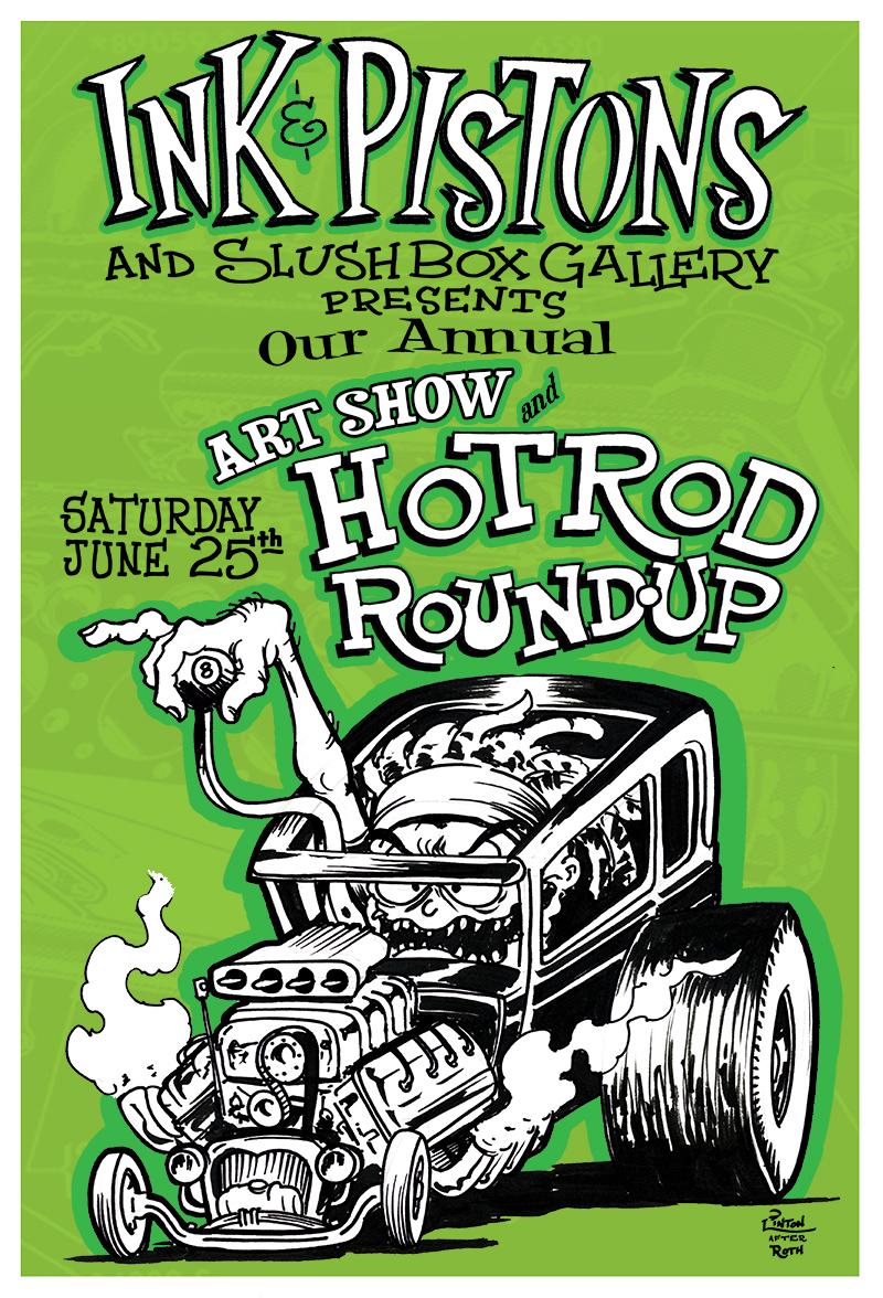 Annual Anniversary Party, Art Show & Hot Rod Roundup!
