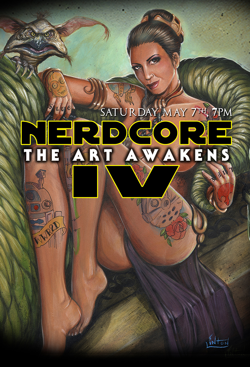 Nerdcore IV, THE ART AWAKENS
