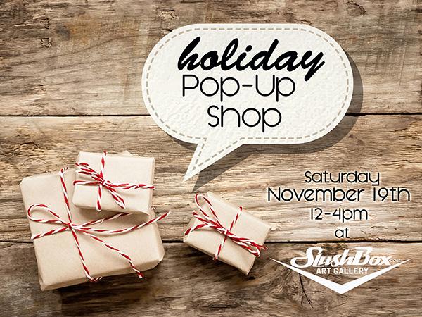 Holiday Pop Up Shop - November